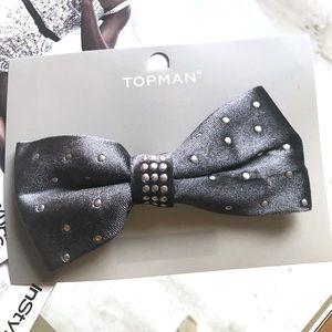 Topman Velvet Bow Tie